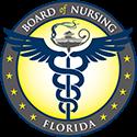 Board Nursing Florida logo
